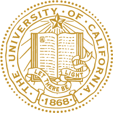 The University of California Seal. Let there be light. 1868